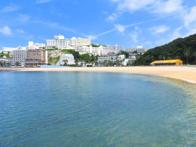 西浦温泉パームビーチを見おろす丘の上のリゾートホテル