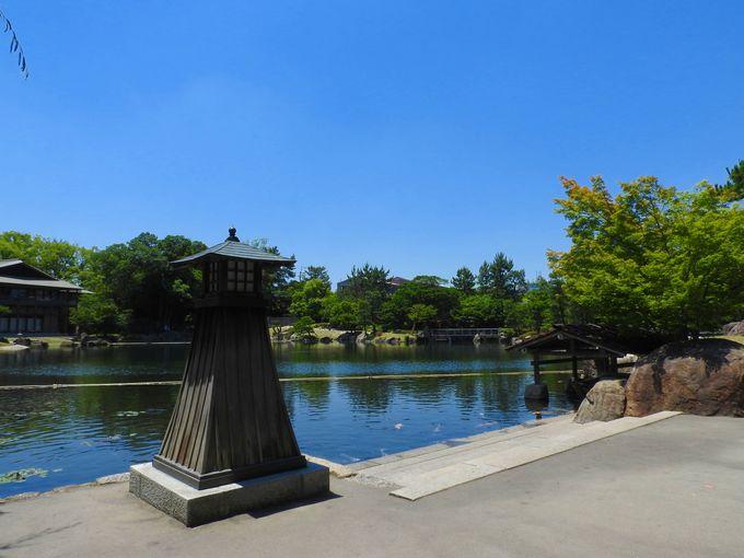「龍仙湖」の開放感