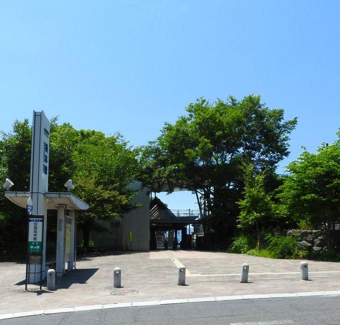 京阪電鉄坂本駅からの出発が便利