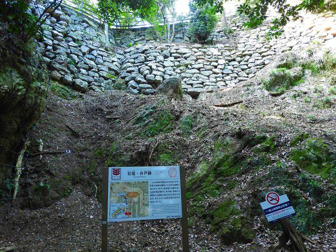 岐阜城散策中の見どころ