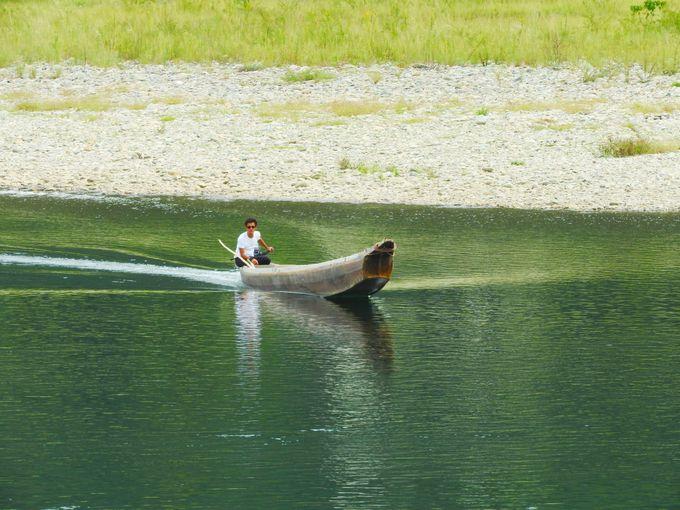 予約制の漁舟ツアー