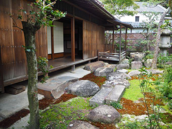 茶道尾州久田流の粋を極めた佐七邸の見どころ