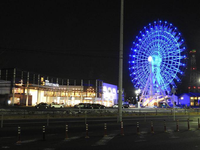 三井アウトレットパーク仙台港へ行ってみよう!