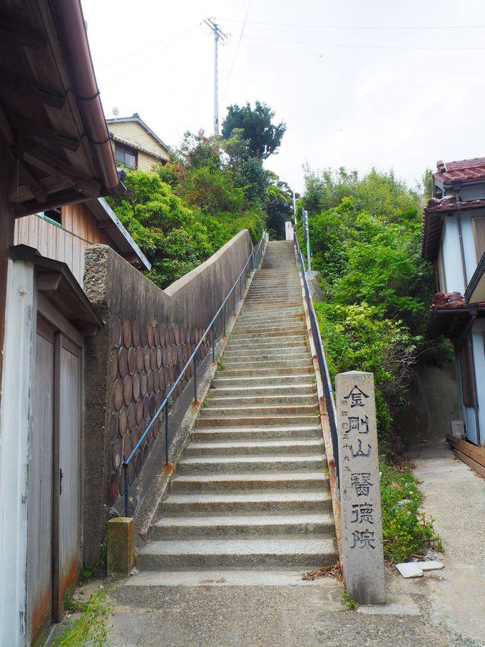 坂道に迷い込んでも楽しい篠島