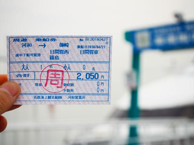 「伝説のカッパの家族」が全員集合する河和港で周遊券を購入しよう