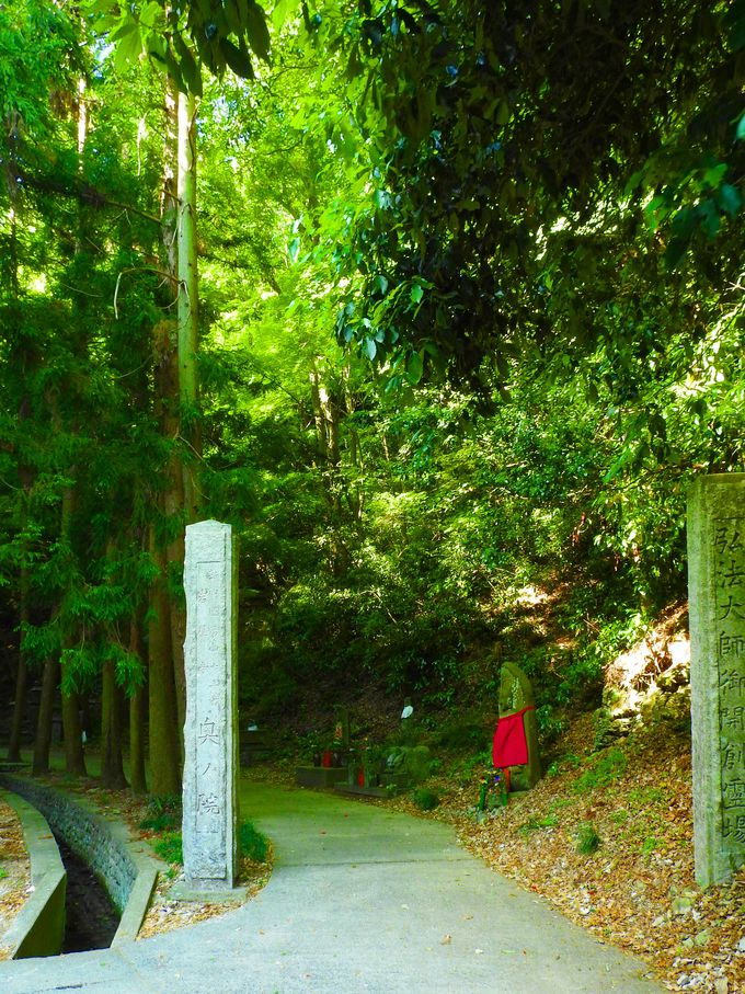 静寂の奥之院を歩こう