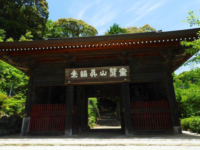 表参道にある仁王門