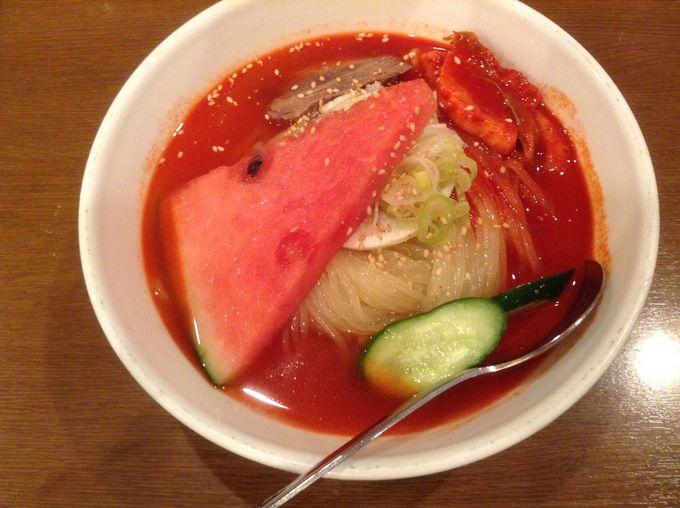 急ぐ人は食べてないけない!「盛岡冷麺」の超シコシコ