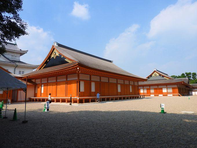 全館こけら葺きの大屋根、壮大な名古屋城「本丸御殿」