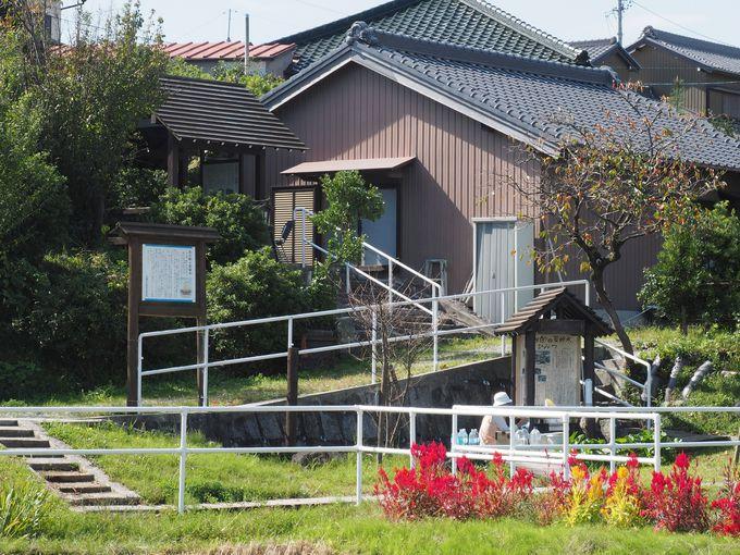 亀有バスで行こう!坂の町半田の亀崎、なつかしい風景