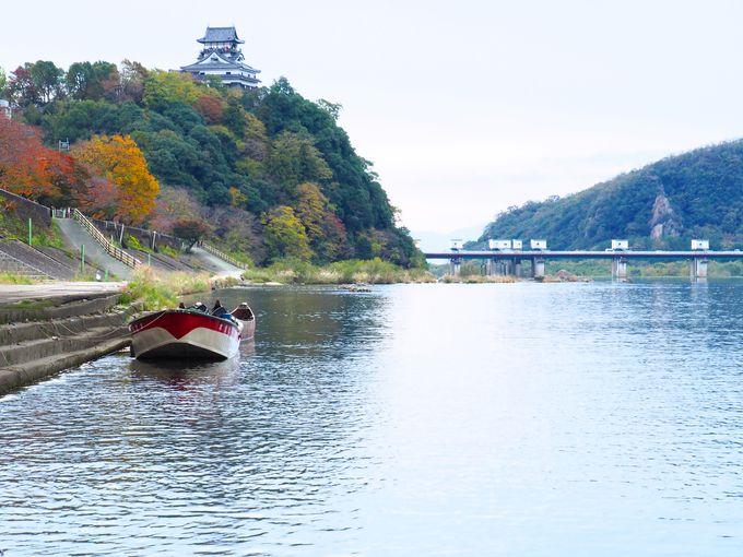 犬山城と鵜沼城址を眺めて出発