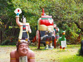 きびだんごも食べたい!元気が出る愛知犬山「桃太郎神社」