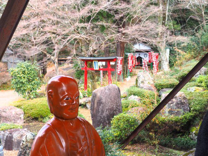 善光寺堂(本堂)と龍頭稲荷神社
