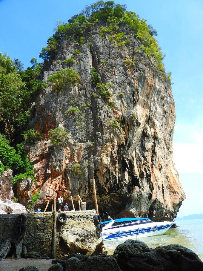 船着場から見える景色も絶景