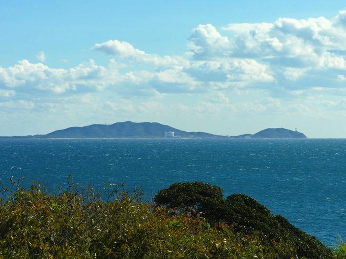 羽豆岬の海抜最高点の絶景!