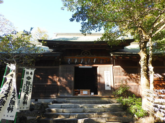 SKE48の聖地で神話と伝説の羽豆神社