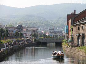 北海道観光の人気スポット!「小樽運河」沿いを歩こう