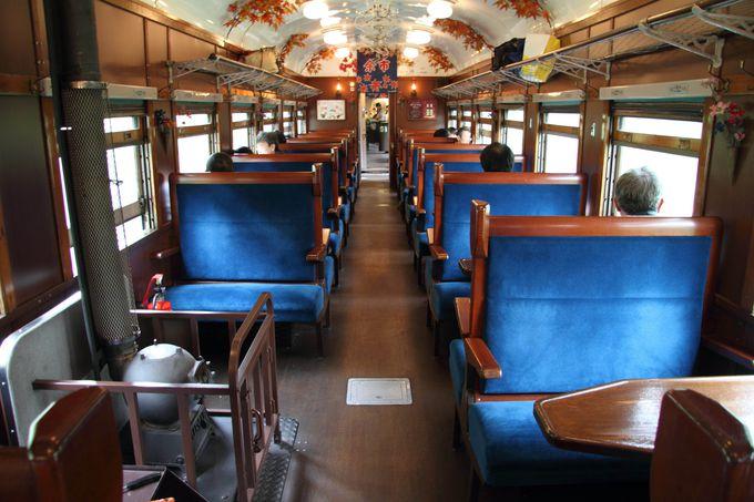 レトロな空間で癒やされる鉄道の旅