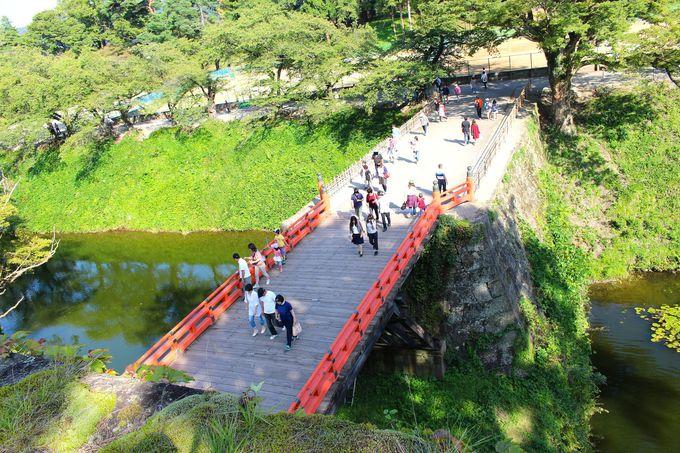 会津若松城の魅力といったら「高石垣」でしょ!