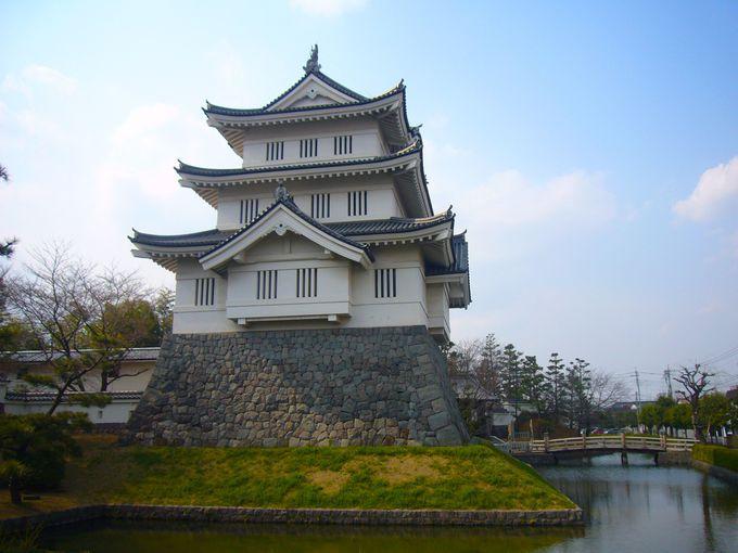 忍城のシンボル御三階櫓