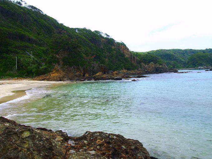 知る人ぞ知る、地元民が賞賛する美しい「九十浜海岸」