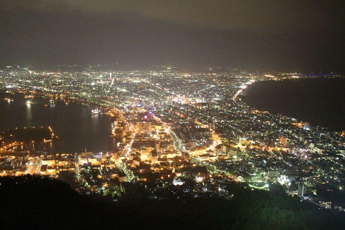 函館の夜景を見に行くツアーがオススメ
