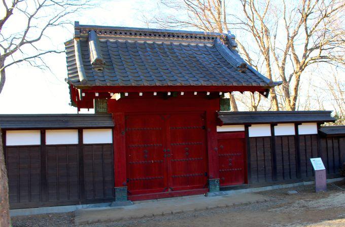 関宿城からやってきた現存の薬医門