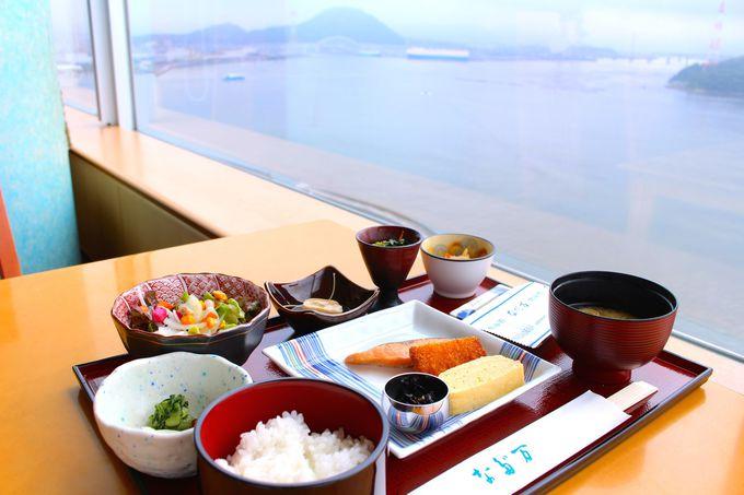 食事は、伝統の日本料理を「広島 なだ万」へ
