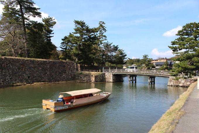 5.お堀遊覧船と周りの観光地
