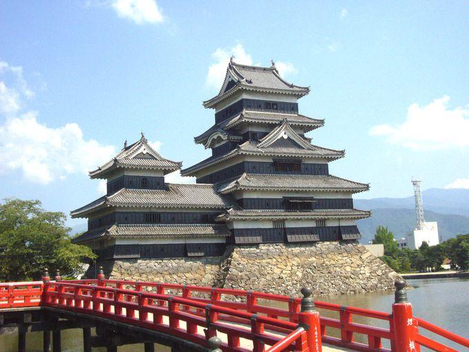1.松本城