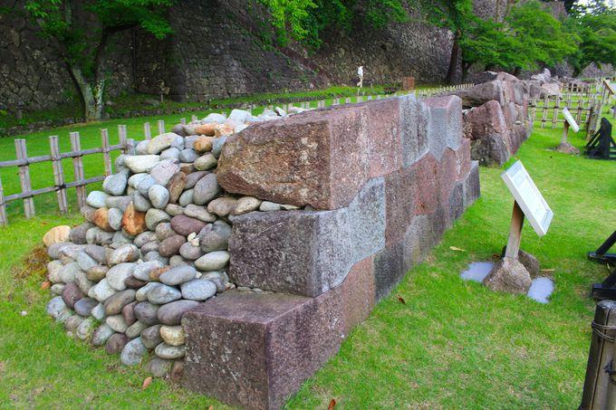 石垣を詳しく知る!充実の石垣解説展示