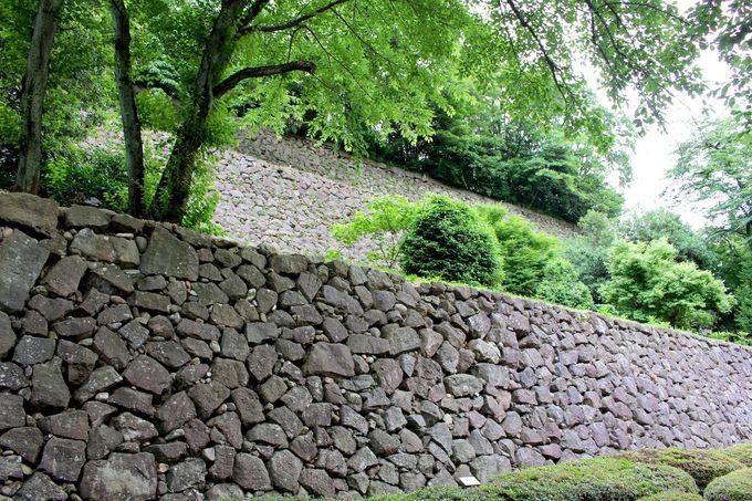 石垣のココに注目して欲しい!