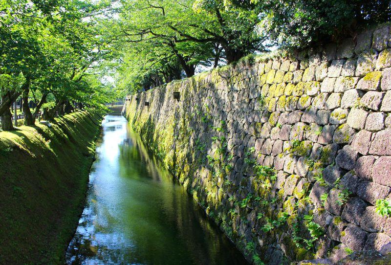 金沢城の石垣はよりどりみどり!美意識高すぎて好きになっちゃう