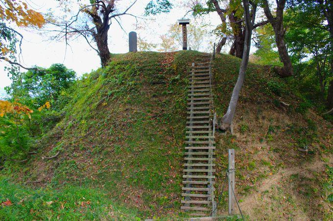 鳥坂城は境目にある緊張感のある城