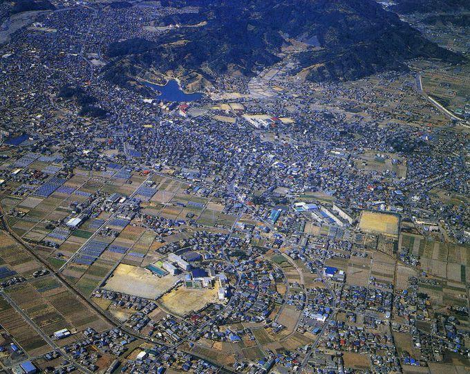 珍しい!日本にたった一つしかないまんまる田中城