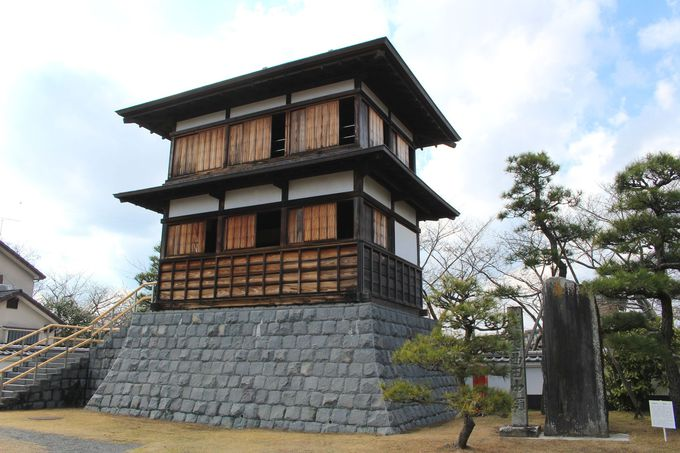現存する田中城の櫓