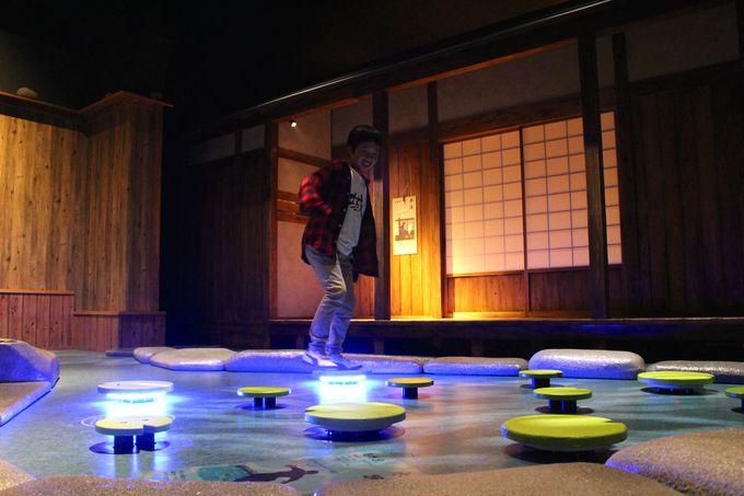 「忍術体験ゾーン」で遊び尽くそう!