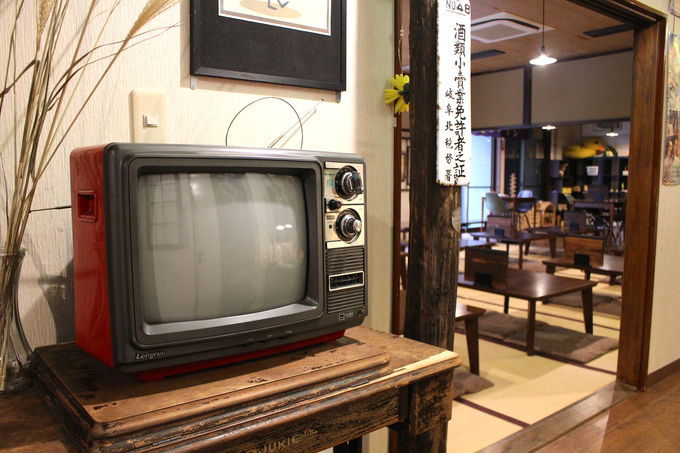 温泉だけじゃなく昭和コンセプトの館内も見どころ