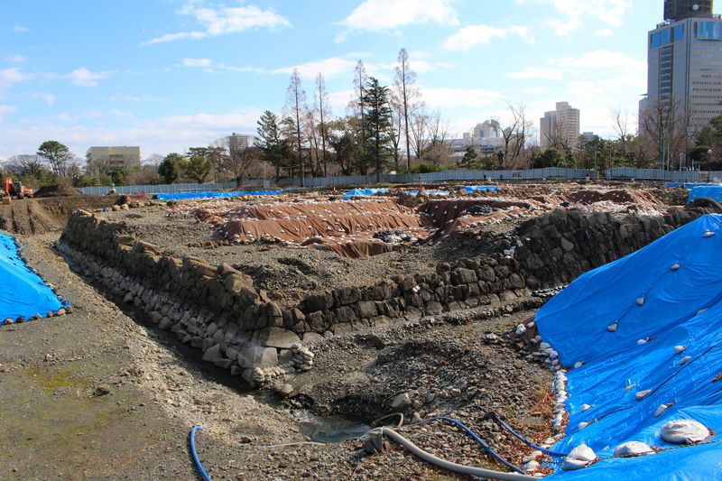 駿府城跡天守台で驚きの発見!発掘調査現場見学会が1日限定で開催
