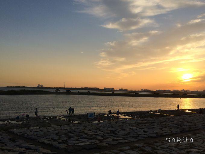夕暮れが名残惜しい…暮れなずむ東京湾をご堪能あれ