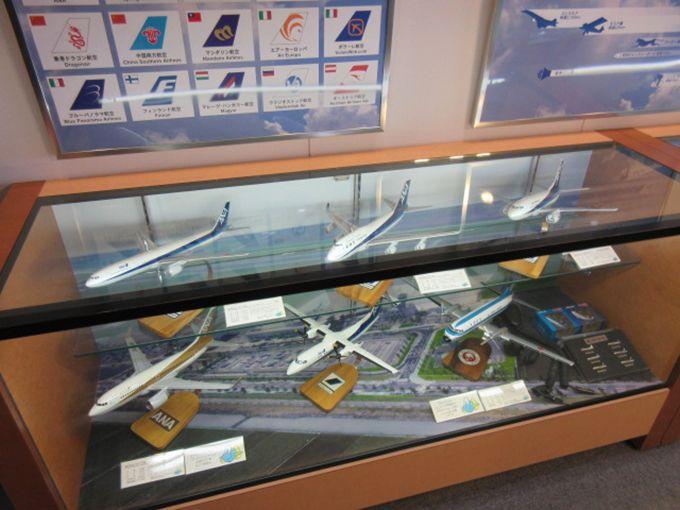 空港3階にある無料のスカイギャラリー 搭乗の待ち時間にも