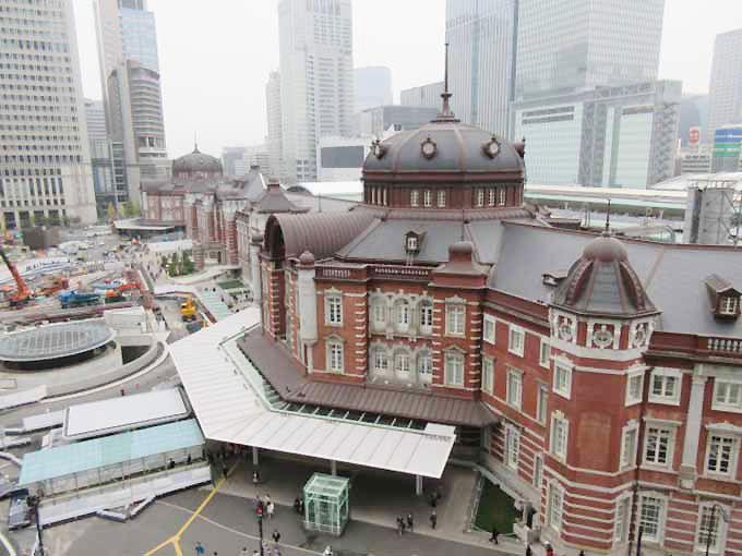 1.東京駅 赤レンガ駅舎
