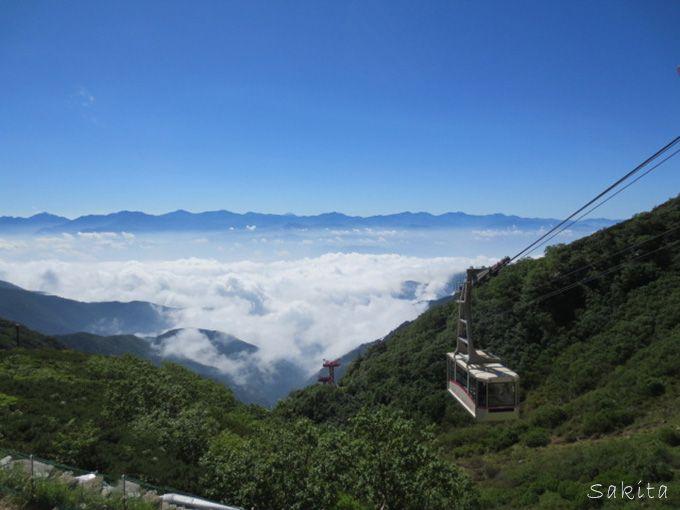 別天地にいざなう駒ヶ岳ロープウェイ 雲の上へ旅立とう!