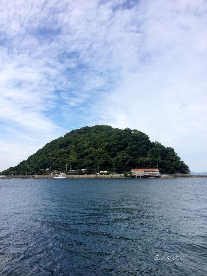 無人島に年パスのミステリー!泳いでいけそうなほど近い鹿島