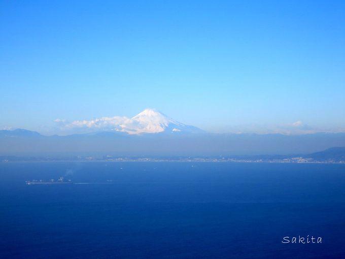 鋸南町・広重も描いた富士見!鋸山「地獄のぞき」とセットでいかが?