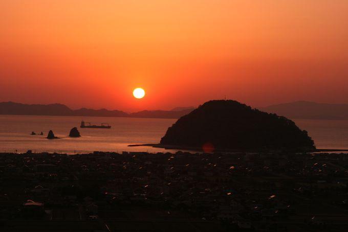 心打たれる美しい景色を大切な人とともに…夕陽の時刻に予約するには