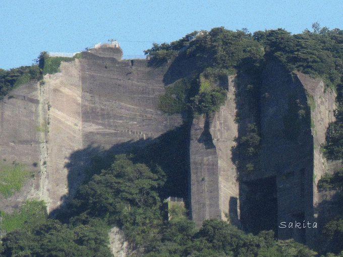 垂直面は最大96M!ラピュタの壁は地獄のぞきのすぐ下!