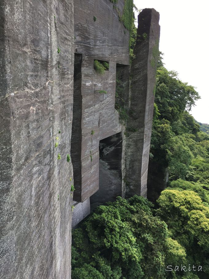 断崖絶壁のラビリンス(迷宮)の見どころ