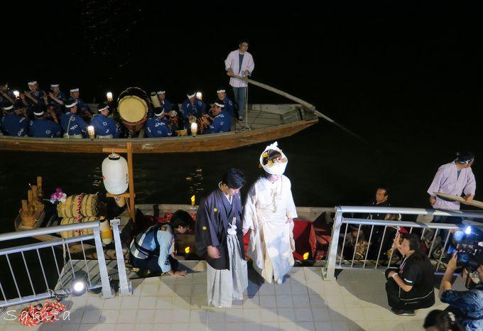 花嫁さんは舟でどこへ行く?素朴な疑問にお答えします!