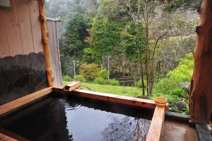 養老渓谷は黒湯で有名!